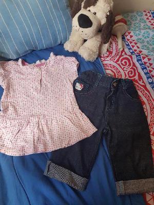 Hermoso lote de ropa niña tallas 3t y 4t - medellín