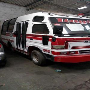 Turbo Microbus: Buseta Daihatsu Delta [ANUNCIOS Mayo]