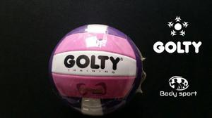 e3edaf3305f64 Balón mini voleibol golty training dynamic n°4 iniciación