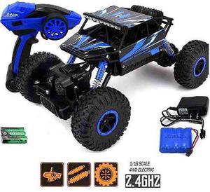 Carro buggy rc 4x4 rock crawler 2.4mhz todo-terreno