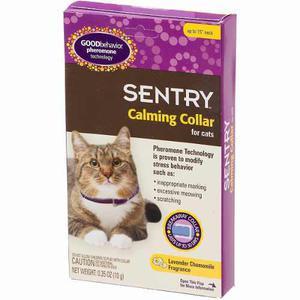Collar tranquilizante para gato sentry
