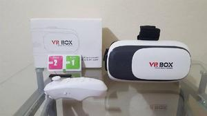95aa91d854 Kit gafas 3d realidad virtual avanzada vr pro box control -