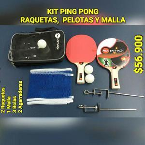 060dd2d185 Kit raquetas ping pong o tenis de mesa - cali