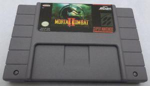 Mortal kombat 2 snes super nintendo consolas generico