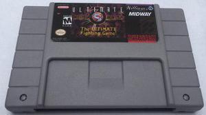 Mortal Kombat 3 Ultimate Snes Super Nintendo Generico