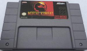 Mortal kombat snes super nintendo consolas generico