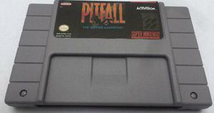 Pitfall the maya adventure snes super nintendo generico