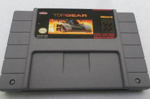 Top gear snes super nintendo consola generico
