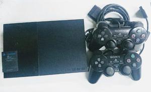 Playstation 2 sin lector disco 70 juegos 2 controles memoria