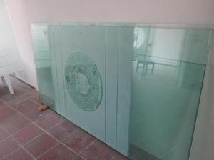 Vidrio templado 10mm grandes divisiones para oficina - san