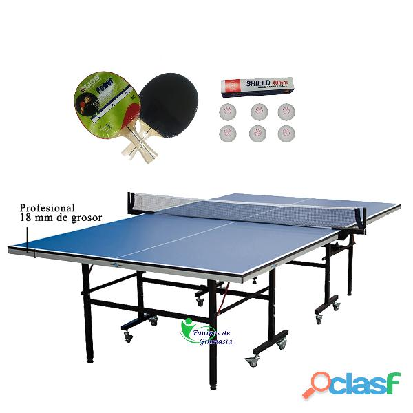 Mesas De Ping Pong Sportfitness Medidas Profesionales 2
