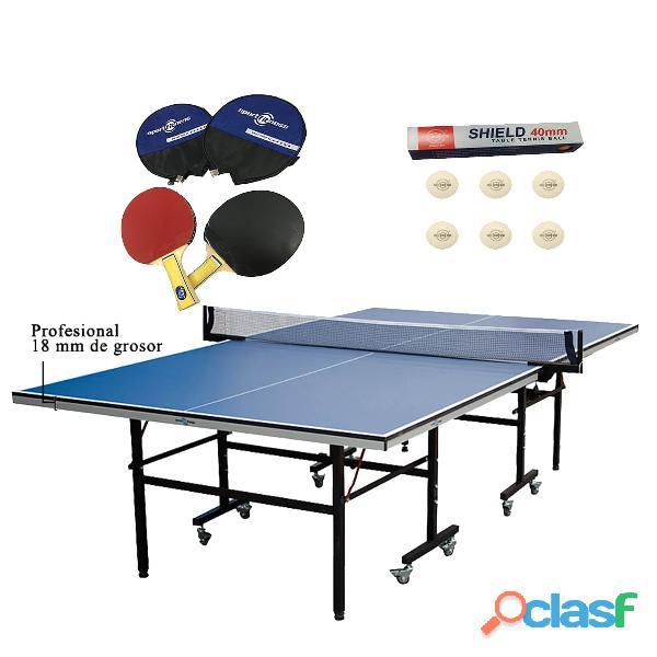 Mesas De Ping Pong Sportfitness Medidas Profesionales 3
