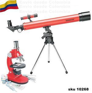 Telescopio + microscopio tasco 49tn envio gratis w05