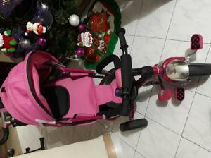 Triciclo para niña con piezas remobibles - medellín