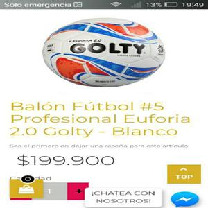 Balon futbol 5 profesional golty origin - medellín 20a9dd793dea0
