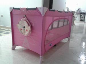Cuna corral bebe rosa chicco - carmen de viboral