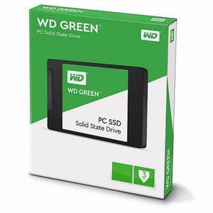 Disco duro solido ssd western digital green 120gb sata nuevo