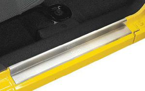 Mopar® 82210108ac door sill guards in stainless steel with