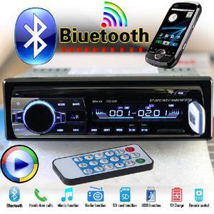 Radio nuevo para carro con bluetooth, entrada usb y tarjeta