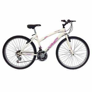 Bicicleta todoterreno rin 24 aluminio 18 cambios moto mujer