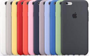 8324aa73ab1 Silicone case estuche original iphone 6, 6s, 7, 8 plus apple
