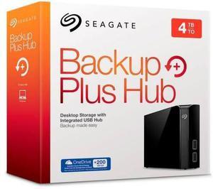 Disco duro 4 teras externo seagate backup plus hub pc y mac