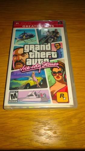 Grand theft auto vice city stories psp nuevo,ps2,ps3,wii,3ds