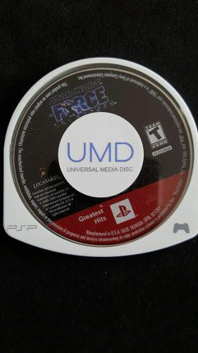 Videojuego psp - umd original - starwars the force unleashed