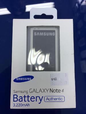 Bateria original nfc samsung galaxy note 4 /3.220 mah en su