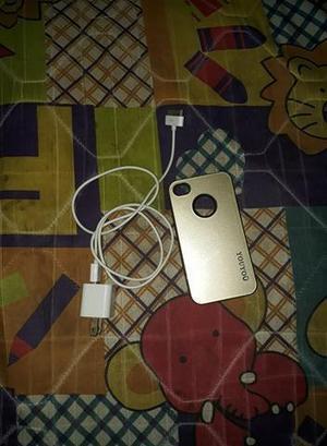 Cargador y forro iphone 4s - barranquilla