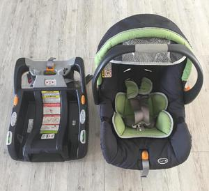 Silla y base para carro para bebe marca chicco - medellín