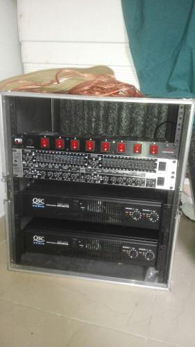 Potente equipo de sonido picko accesorios beringer original
