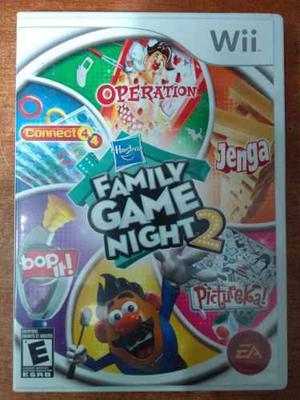 Juego wii family game night 2 original