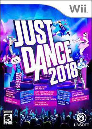 Just dance 2018 - wii fisico nuevo sellado
