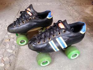 Vendo 2 pares de patines usados marca roller top - medellín