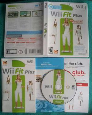 Wii fit plus - fisico / nintendo wii & wii u