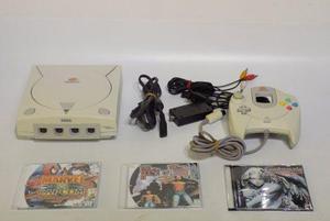 Consola dreamcast completa 3 juegos
