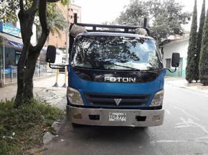 Foton 2013 4.5 ton con opcion de trabajo - medellín