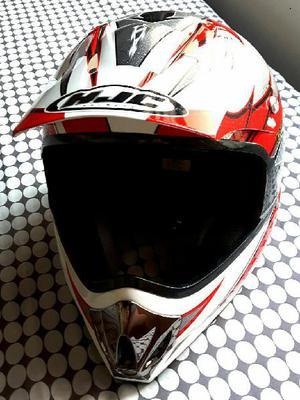 Casco de motocross hjc como nuevo - medellín