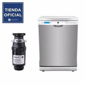 Combo lavavajillas y triturador ge (glv1640xss0 + gfc525v)