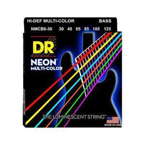 Encordado bajo electrico neon dr nmcb630 multicolor 6c