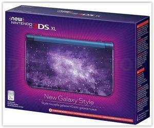 Entrega hoy consola new nintendo 3ds xl edicion galaxy style