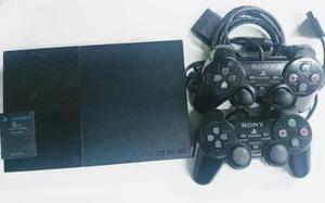 Playstation2, dos controles memoria y cables originales