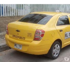 Vendo taxi chevrolet modelo 2015