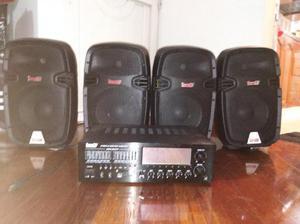 Consola de sonido y amplificadores - bogotá