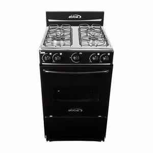 Estufa de piso con horno negra, abba at 101-3n gas natural