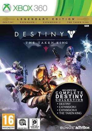 Juego xbox 360 destiny 3 expansiones ed. legendaria sellado