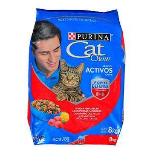 Cat chow adultos x 8 kg - bello