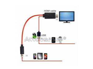 Cable mhl a hdmi samsung galaxy s3, s4, s5, note 2, note 3.m
