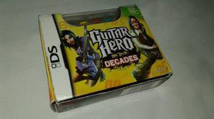 Guitar hero grip nintendo ds original en cajs